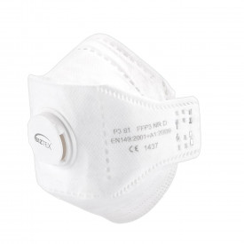 EAGLE FFP3 Valved Dolomite Fold Respirator (per 10 pcs)
