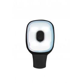 Pinza con luz recargable por USB